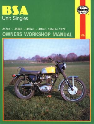 Bsa Unit Singles Owners Workshop Manual, No. 127 By Daniels, Marcus